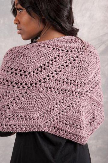 abanicos tejidos a crochet prendas