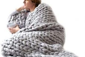 Pasos para colchas tejidas a crochet a mano 2 filas basicas