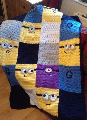 colchitas para bebe en crochet de personajes infantiles