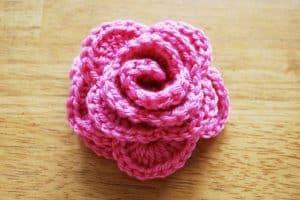 Bonitas flores al crochet paso a paso 3 vueltas claves