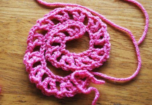 flores al crochet paso a paso formacion