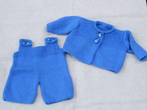 ropones para bebes varones con peto