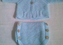 Diseños de ropones para recien nacidos a 2 palitos