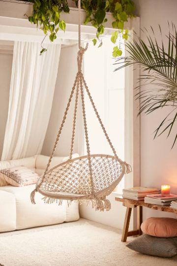 sillas colgantes para jardin para interior