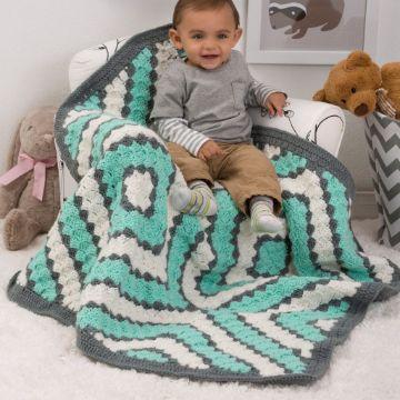 tejidos a crochet colchas para bebe imagenes diamantes