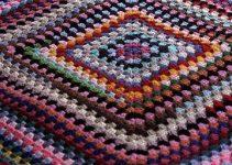 4 diferentes tejidos de colchas a crochet faciles