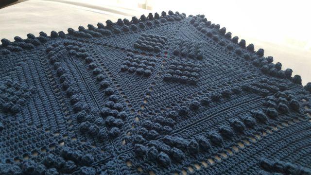 tejidos de colchas a crochet puntos en relieve