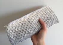 Billeteras de mujer tejidas a crochet con gancho 3.5 mm
