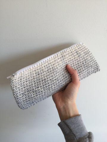 billeteras de mujer tejidas a crochet largas