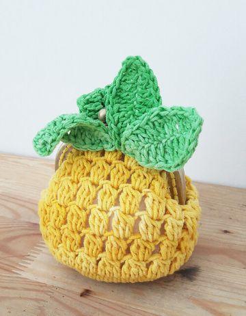 billeteras tejidas crochet patrones con formar divertidas