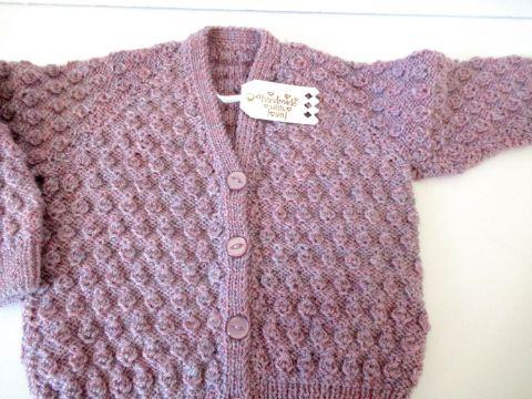 chompas tejidas para niñas puntada original