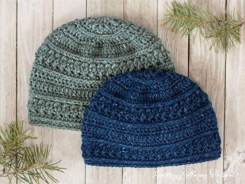 gorras para niño tejidas puntos en relieve