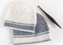 Sencillas gorritas para bebe a crochet con 10 vueltas