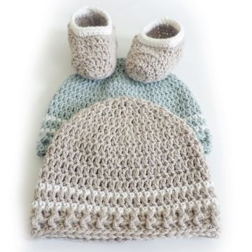 gorritos de bebe a crochet con zapatos
