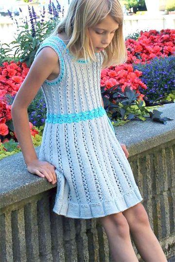 vestidos tejidos para niñas geniales