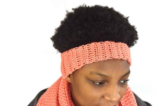 vinchas a crochet para mujer sencilla