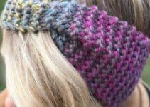 Vinchas en crochet paso a paso con 70 gramos de hilo