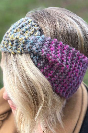 vinchas en crochet paso a paso bicolor