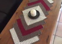 Como tejer un caminito de mesa a crochet gancho 1.3mm