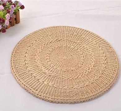carpetas redondas a crochet trapillo