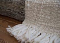 2 tonos en cubrecamas tejidas a crochet con trapillo