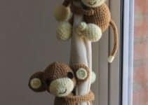 4 diferentes muñecos de crochet amigurumis para regalar