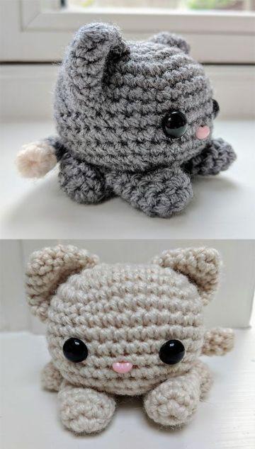 muñecos de crochet amigurumis sencillos y pequeños