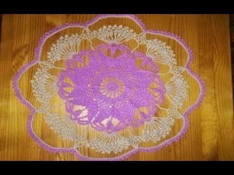 tapetes en crochet paso a paso colores