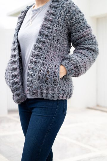 casacas tejidas a crochet puntadas relieves