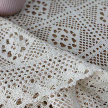 cuadros tejidos a crochet para mantel puntos calados