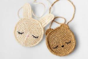 Diseños en monederos tejidos a crochet regalos 2020
