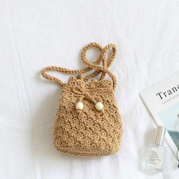 monederos tejidos a crochet tipo morral