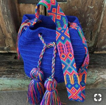 morrales tejidos a gancho artesanal