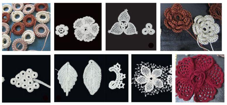 puntillas a crochet paso a paso diseños