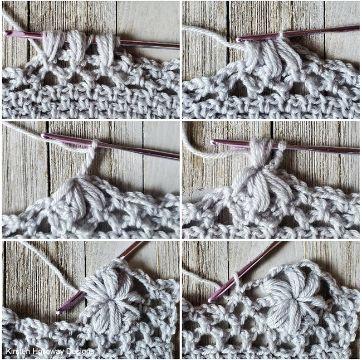 puntillas a crochet paso a paso petalos