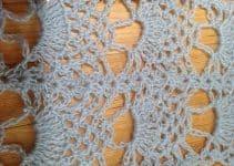 Decorativas puntillas a crochet paso a paso 5 instrucciones