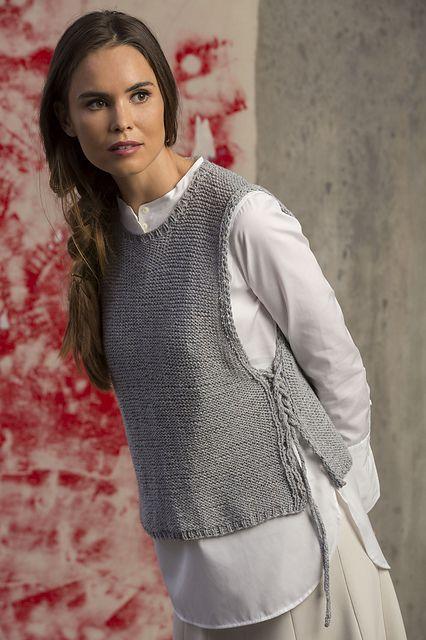 chalecos de lana para mujer
