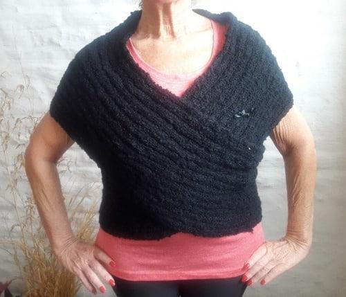 chalecos de lana para mujeres faciles