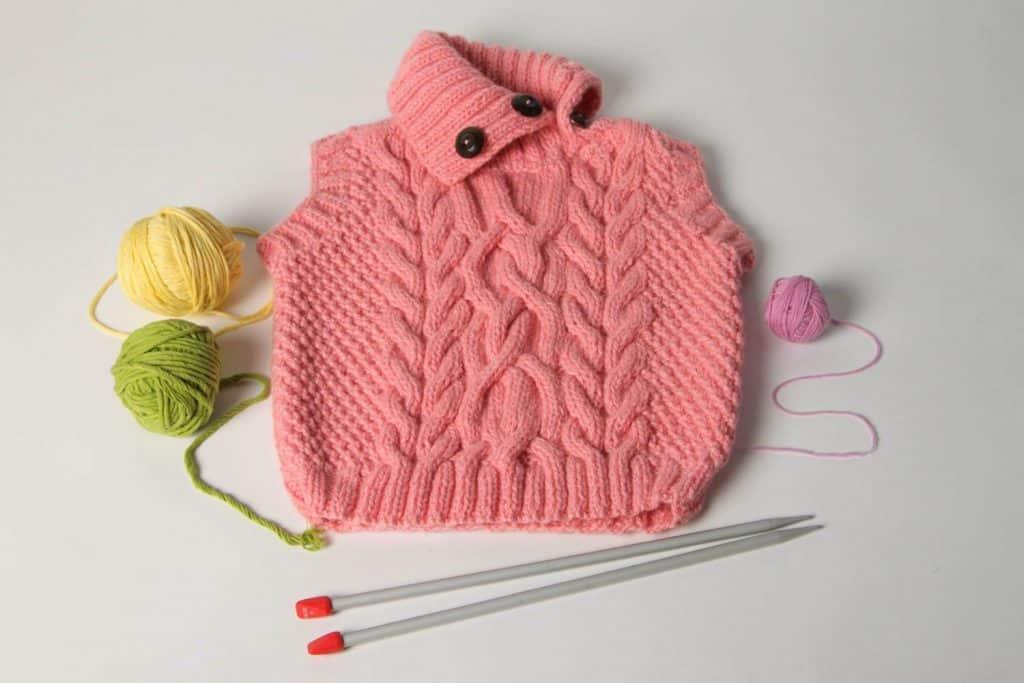 chalecos de lana para niñas