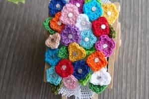 3 ideas de flores tejidas a crochet faciles