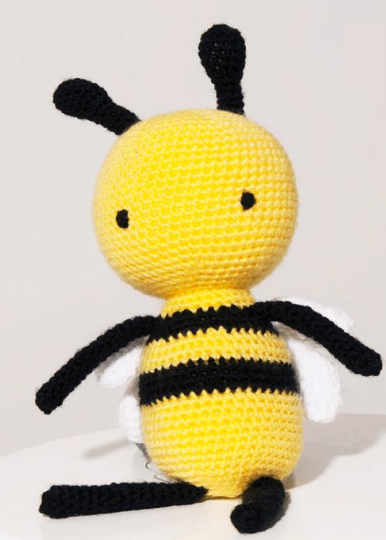 ideas para tejer una abeja a crochet