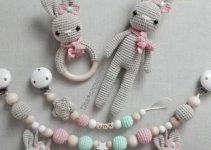 3 ideas de sonajas tejidas para bebes