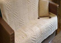 3 ideas para hacer mantas tejidas al crochet para sillones