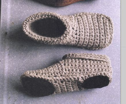 pantuflas a crochet faciles suelas