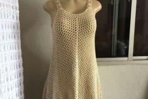 Primavera y salidas de baño tejidas a crochet 4 diseños