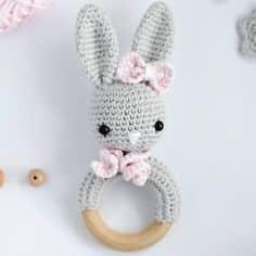 sonajeros tejidos a crochet