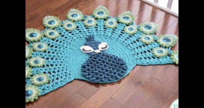 tapetes a crochet paso a paso figuras
