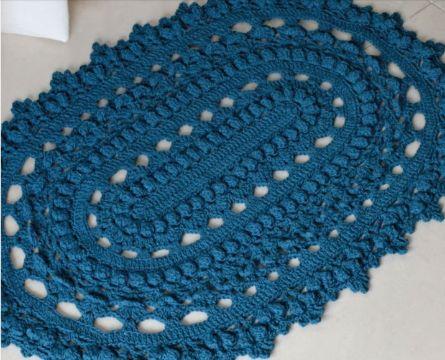 tapetes a crochet paso a paso tradicionales