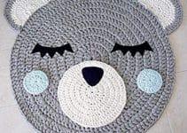 Redondos tapetes crochet paso a paso con gancho del 4