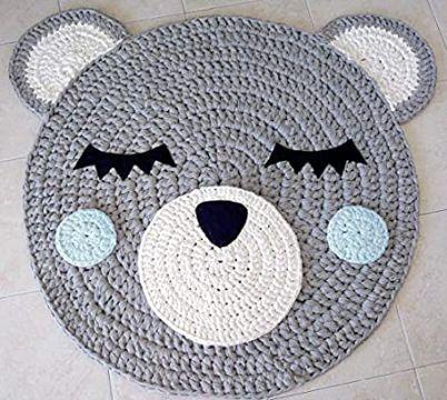 tapetes crochet paso a paso para niños